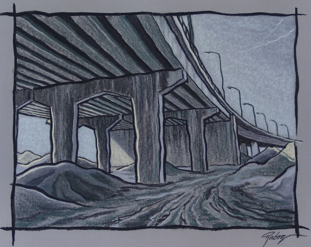 Bridge works - No man's land
