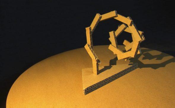 Vortex - cardboard artwork